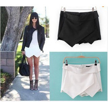 Heiße Frauen Sexy Shorts Wrap Miniröcke Culottes Hosen (SR8235)