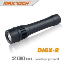 Maxtoch DI6X-2 2 * 26650 Batterie Längste Laufzeit Wasserdichte LED Tauchen Licht