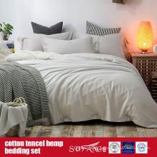 Cotton Lyocell Hemp Blended Sheet Set Factory Venta Directa