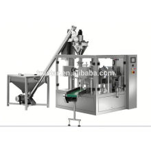 rotary type premade bag packing machine for ketchup
