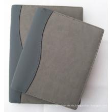 Customed Organizer PU-Ordner (LD0006) Metall Ring Tagebuch Cover