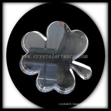Crystal Four Leaf Clover Blank Crystal