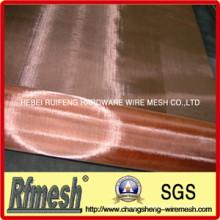 Treillis métallique de bronze de phosphore / treillis métallique de cuivre / tissu métallique de bronze de phosphore