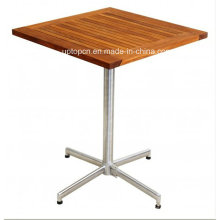 Modern Design Wood Leisure Cafe Dining Outdoor Table (SP-AT320)