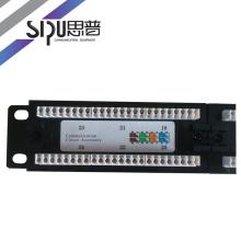 Панель высокого качества СИПУ патч 24 порта 48 портов категории 5E cat6 кабель панели