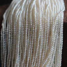 Fabrication de petites perles d'eau douce cultivées de 3-3,5 mm (E180066)