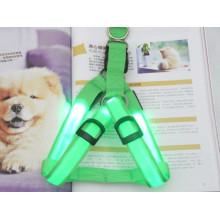 Зеленый ворот любимчика делая поставки проводки собаки Сид