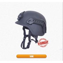 Bulletproof Helmet Pasgt with Side Rails and Shraud