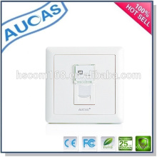 systimax FTTH one port fiber faceplate /hot sell china factory UK faceplate / single port dust-proof faceplate /