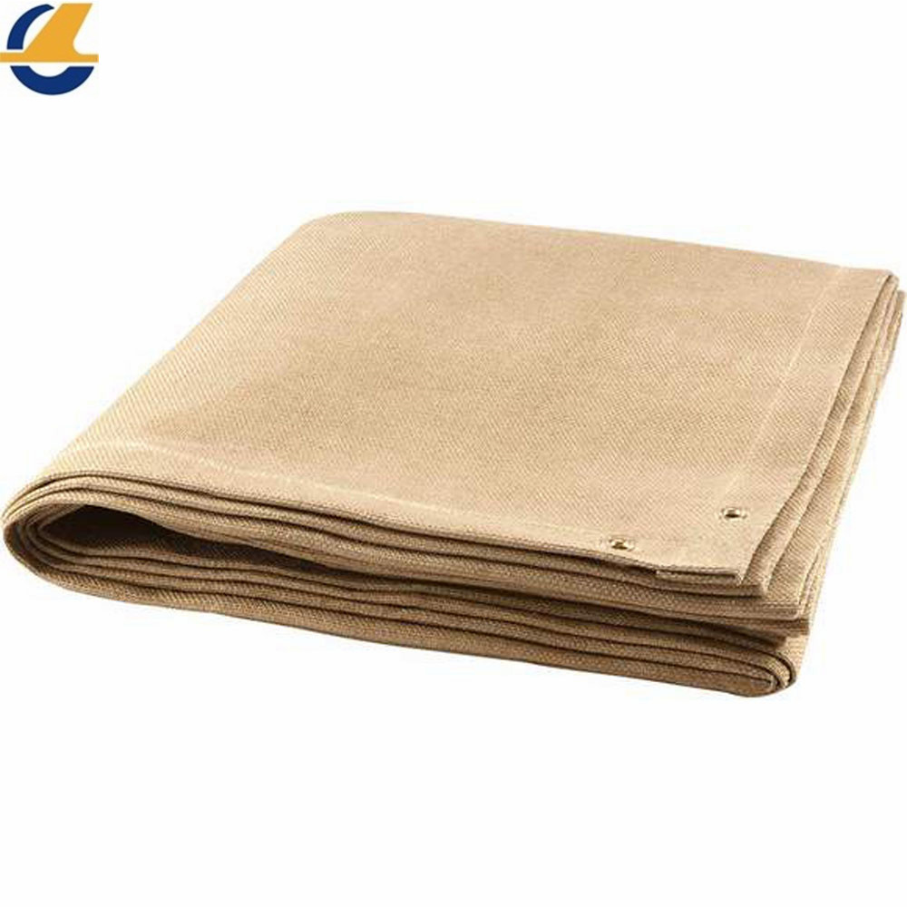 Cotton tarps white color