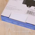 Le papier au détail de garniture en métal d'impression de coutume a emballé la boîte d'emballage