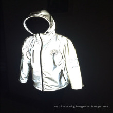 high visibility protection security clothing jacket waterproof reflective winter safety jacket
