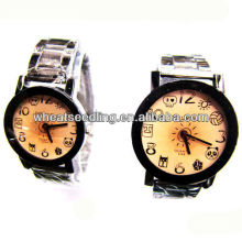 traditional Fashionable style stainless steel watches set gift watch