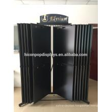 Custom Stone Showroom Rack Large Metal Freestanding Sliding Floor Granite And Marble Tiles Display