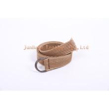 Ceinture en tissu unisexe personnalisée de ceinture de ceinture