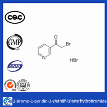 2-Bromo-1-Pyridin-3-Ylethan-1-One Hydrobromide 99% Poudre chimique CAS 17694-68-7