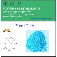 Alimentos de alta calidad Mineral Copper Citrate