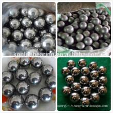 Acier au carbone acier chromé acier inoxydable en acier inoxydable de l'usine stell ball