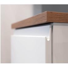 Две упакованные белые лаки Кухня двери кабинета (настроить)