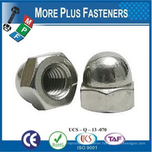 Made in Taiwan Acorn Hex Cap Nut Solid Brass Acorn Nut Stainless Steel Acorn Nuts Aluminum