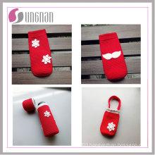 2015 Hot Sale Fashion Cup Cosy for Coffee Warmer Crochet Knit Mug Sleeve