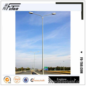 12M Round Single Bracket Lamp post