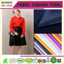 Обычная окрашенная тяжелая атласная ткань для женщин Свадебное платье Текстильное производство