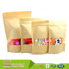 Гуанчжоу дешевые цены соевого пищевого чернила печать 100 кг Крафт мешок сахара Упаковывая, изготовленные на заказ бумажные мешки с собственный логотип