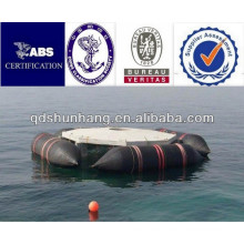ISO9001 certificate anti explosion floating pontoon for sunken
