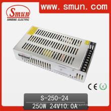 Fuente de alimentación de la salida de la salida de 250W 24V 10A DC