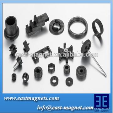 Fuerte imán de ferrita duro sinterizado con magnético permanente para motor y altavoces