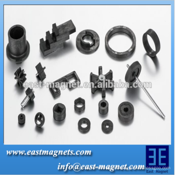 Strong sintered hard ferrite magnet with permanent magnetic for motor and speakers