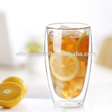 Amazon Gift Pyrex Double Wall Borosilicate Glass Wholesale Tea Cup