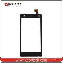Repuestos de teléfonos móviles de pantalla táctil digitalizador de vidrio de reemplazo de panel para Lenovo A788t Negro