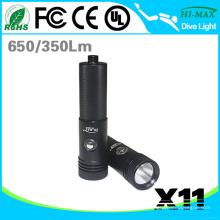 2015 Neue tragbare schmale Licht Strahl Tauchen Taschenlampe