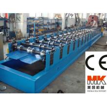 panneau caché de toit formant la machine / panneau coloré de toit caché par joint en acier faisant la machine