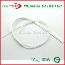 Tubo de drenagem médica descartável de silicone HENSO