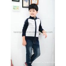 Zip Raglan manga lana niños cardigan suéter Stock