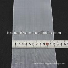 120mm transparent curtain tape,nylon curtain tape