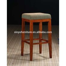 Morden simple upholstered bonded linen barstool XYH2009