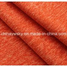 Tissu polaire de couleur mélangée