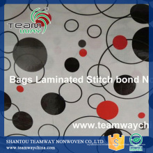 Laminierte Beutel RPET Stitchbond Stoff
