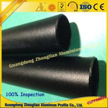 O fabricante de China anodizou o tubo de alumínio do quadrado do perfil do pó
