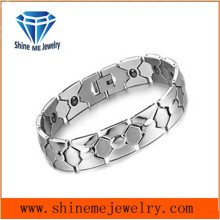 Fashion Contracted Titanium Steel Chain Couple Bracelet with Stainless Steel Jewelry