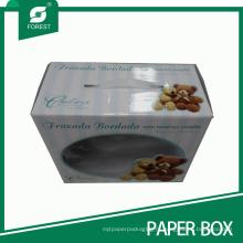 Кукла упаковочной коробки с окном PVC дисплея и ручки