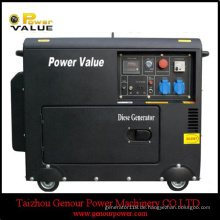 3kVA 5kVA Diesel Generator 178f 186f Silent dreiphasig mit ATS
