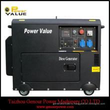 3 ква 5 ква дизельный генератор 178f 186ф трехфазный Молчком с ATS