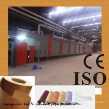 Dekorative Papier Imprägnierung Linie / Papier Imprägnierung Linie Hersteller / Melamin Papier Beschichtung Linie / zwei Schritt 4 Füße imprägnieren l