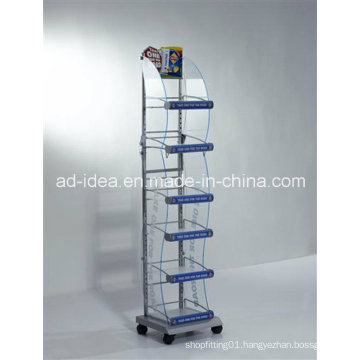 Hot Sale Rotatable Six Layers Acrylic Exhibition Stand/Multipurpose Exhibition Stand