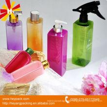 supply various kinds PET plastic square bottle